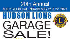 Hudson Lions Community Garage Sale